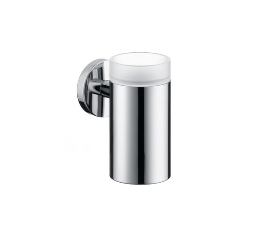 Hansgrohe Logis Glass Toothbrush Tumbler with holder by Hansgrohe | Toothbrush holders