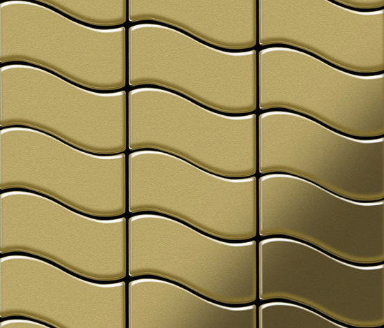 Flux Brass Tiles de Alloy | Mosaïques