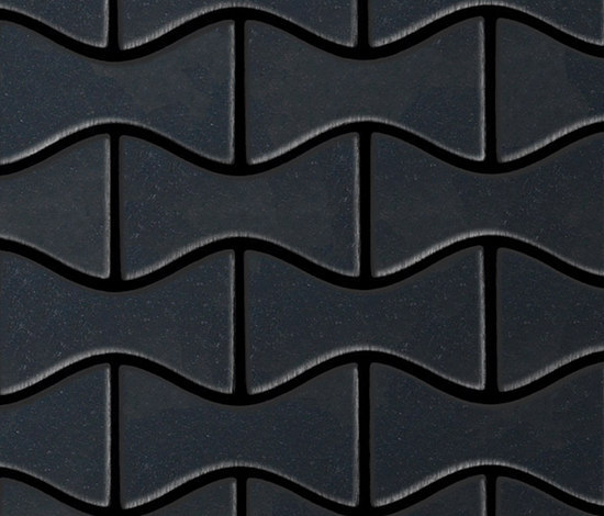 Kismet Raw Steel Tiles by Alloy | Metal mosaics