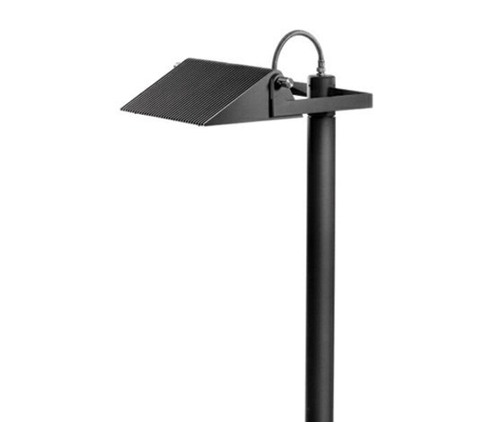Novara SL Luminaria con brazo simple de Hess | Iluminación de caminos