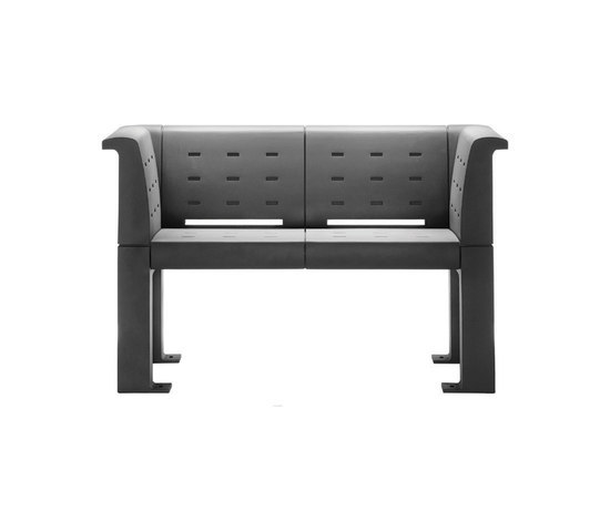 Auriga 2-seater Bench by Hess | Exterior benches