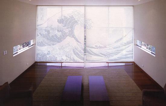 tela The Big Wave de tela-design | Separadores de ambientes
