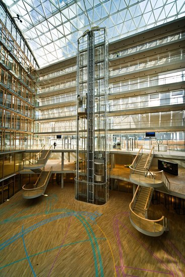 """Project """"European Investment Bank - Luxemburg"""" by Rosskopf & Partner"""