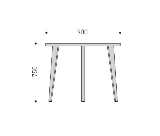Table small de MINT Furniture | Mesas comedor