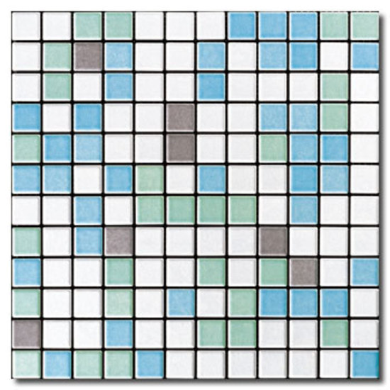 Appiani Mix Aqua 01 by Appiani | Ceramic mosaics