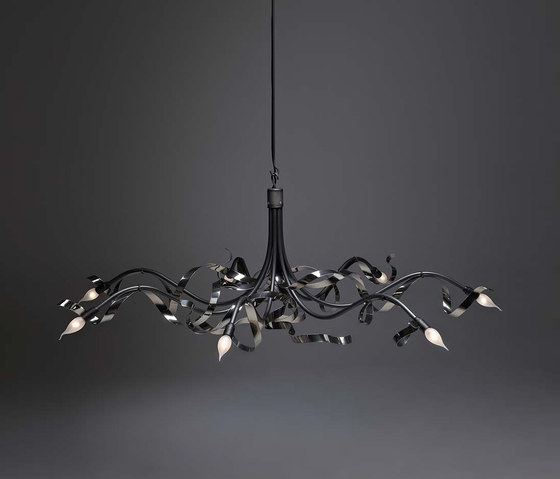 Ruban Plié Chandelier oval by Jacco Maris | General lighting