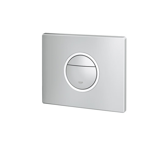 Nova Cosmopolitan Light Wall plate by GROHE | Flushes