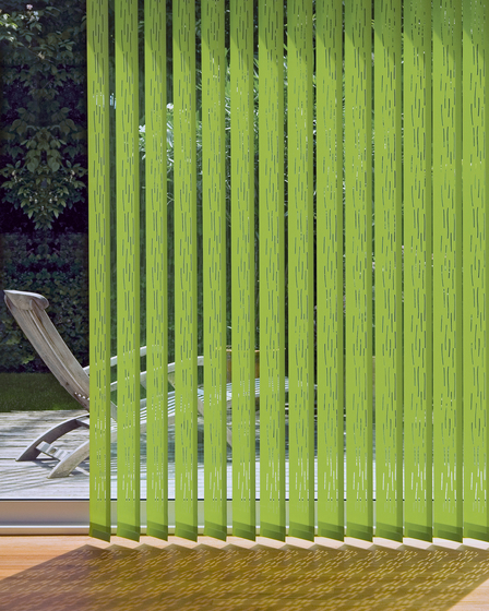 LASER CARMEN V - 0 by Création Baumann | Vertical blinds