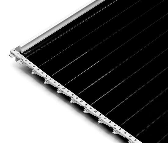 RAUVOLET vetro-line di REHAU | Porte a serranda