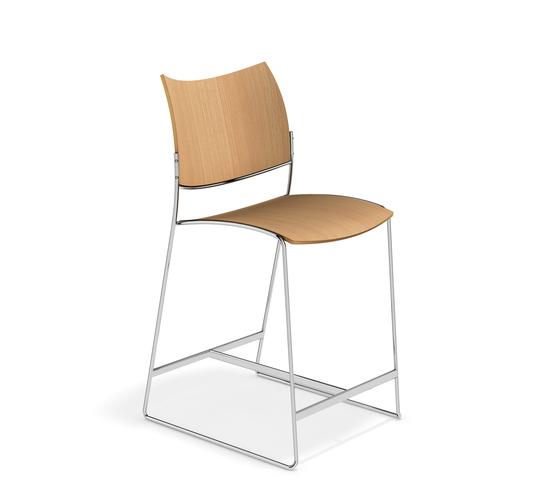 Curvy Barstool 3288/06 by Casala | Bar stools