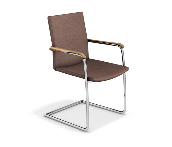 Leo 2651/11 by Casala | Visitors chairs / Side chairs