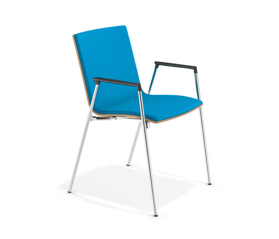 Lynx II 2592/10 by Casala | Visitors chairs / Side chairs