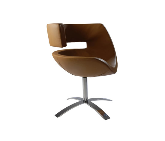 Wait Lounge Chair di Wilde + Spieth | Poltrone lounge
