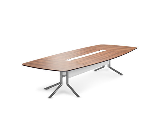 Audience conference table by Haworth | Multimedia conference tables