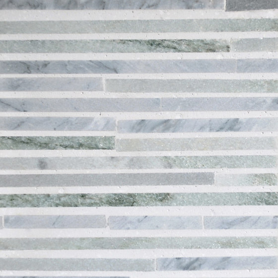 Katami Stone Crowned Kinglet by Complete Tile Collection | Natural stone mosaics