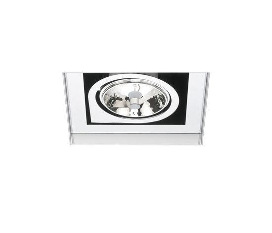 Corner 8145 + 9015 ceiling lamp de Vibia | Spots