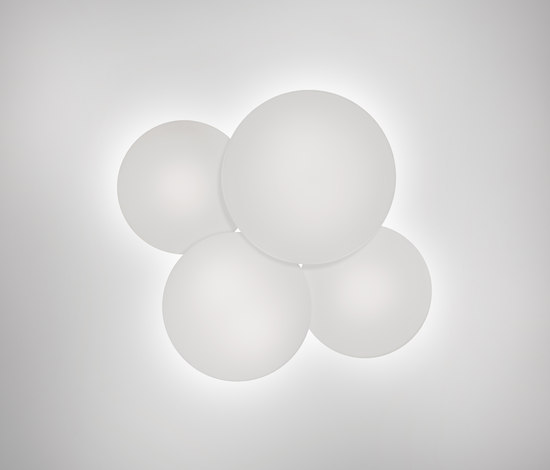Puck 5440 / 5442 Ceiling lamp by Vibia | Wall lights