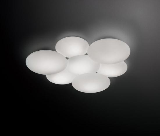 Puck 5445 / 5447 Ceiling lamp di Vibia | Lampade plafoniere