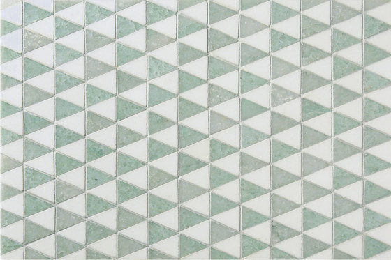 Mosaic Masterworks Diamont Pattern by Complete Tile Collection | Natural stone mosaics