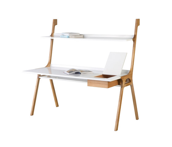 Slope Long by GAEAforms | Individual desks