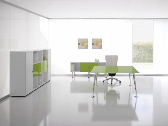 Bay Schreibtisch von Haworth | Einzeltische