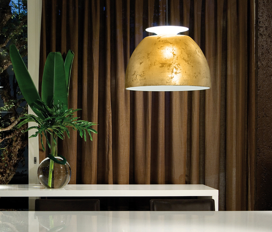 Bossa Gold pendant light by Lumini | General lighting