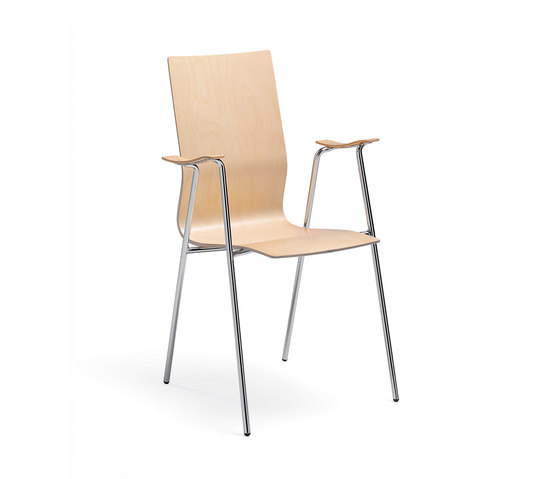 Adam armchair by Materia | Visitors chairs / Side chairs
