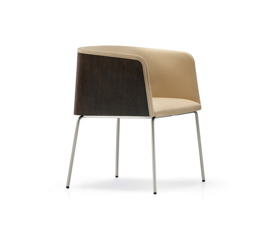 Allure 738 by PEDRALI | Visitors chairs / Side chairs