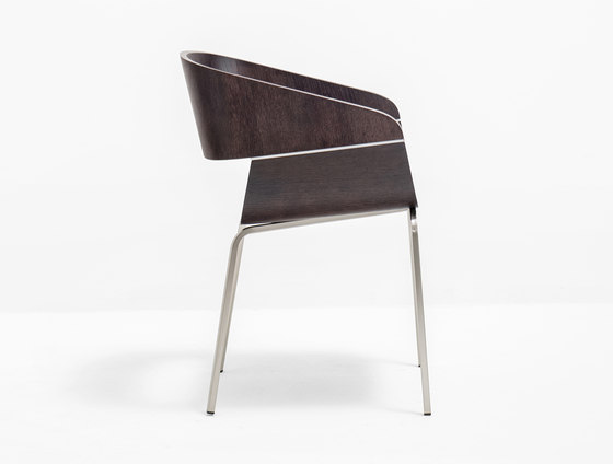Apple 760 by PEDRALI | Visitors chairs / Side chairs