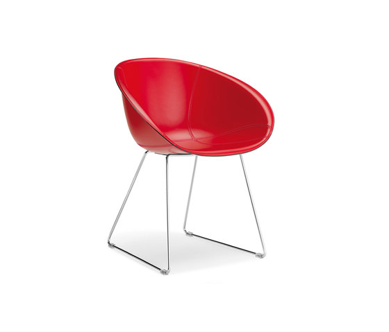 Gliss 930 by PEDRALI | Visitors chairs / Side chairs