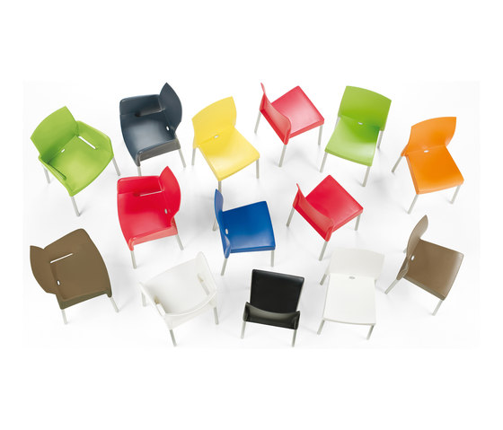 Ice 800 by PEDRALI | Multipurpose chairs
