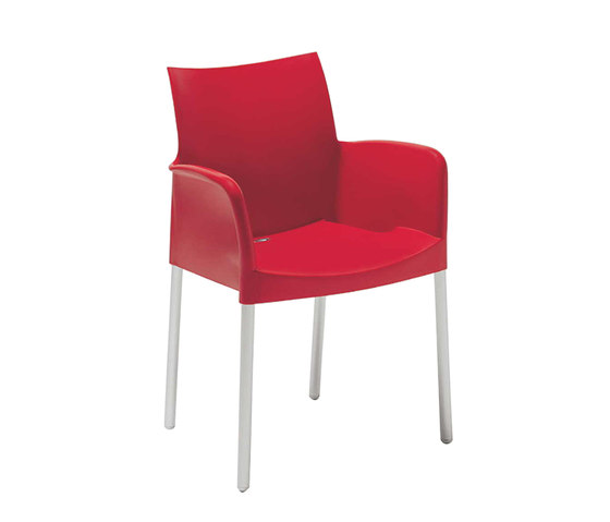 Ice 850 by PEDRALI | Multipurpose chairs