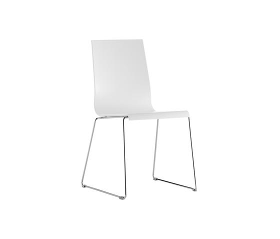 Kuadra 1158 by PEDRALI | Multipurpose chairs