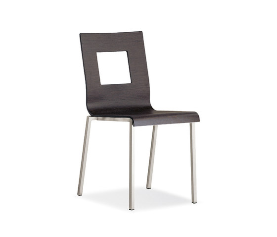 Kuadra 1301* by PEDRALI | Multipurpose chairs