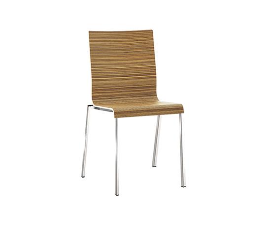 Kuadra 1321 by PEDRALI | Multipurpose chairs
