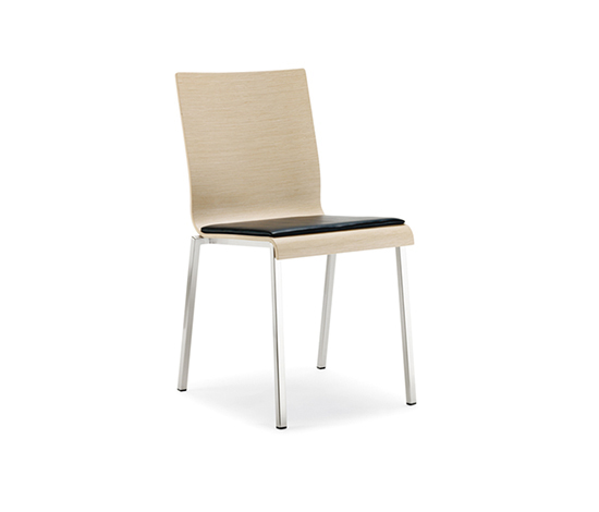 Kuadra 1321/A* by PEDRALI | Multipurpose chairs
