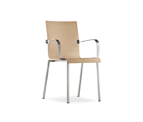 Kuadra 1325 by PEDRALI | Multipurpose chairs