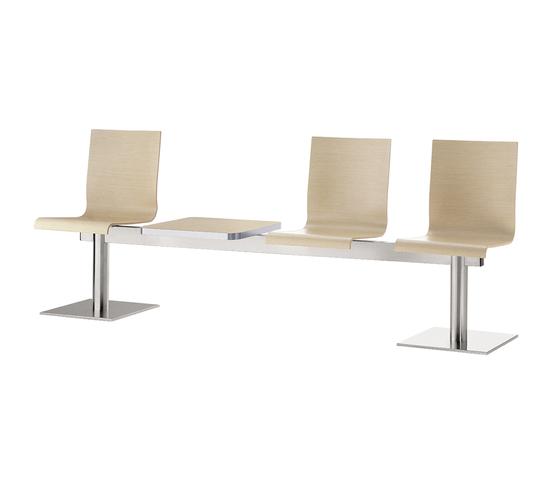 Kuadra 1385* by PEDRALI | Beam / traverse seating
