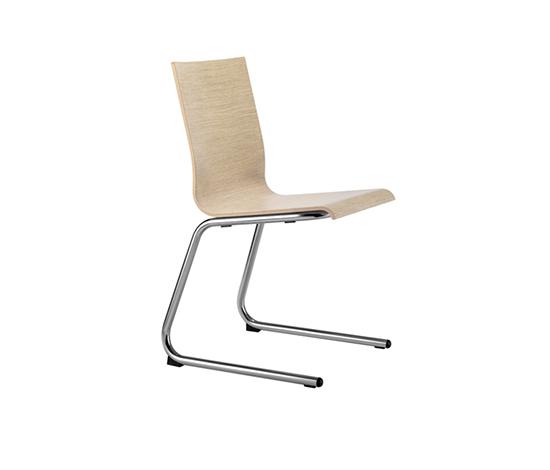 Kuadra 1395 by PEDRALI | Multipurpose chairs