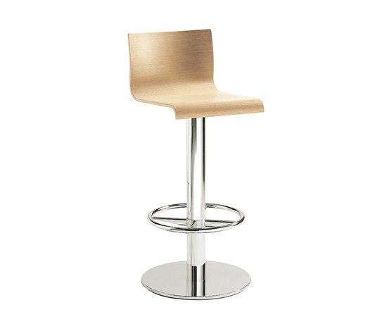 Kuadra 4417KU by PEDRALI | Bar stools