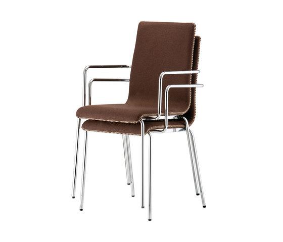 Kuadra 1055H by PEDRALI | Restaurant chairs