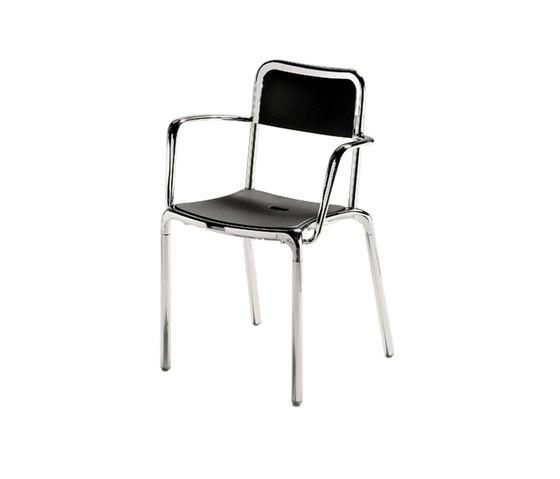 Mrs Alu* by PEDRALI | Multipurpose chairs