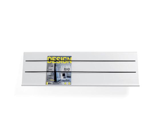 Cord magazine holder di Materia | Porta dépliant / riviste