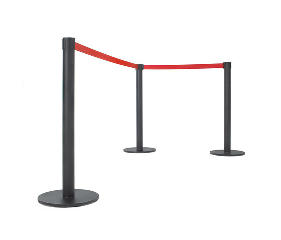808 Retractable queue guides by Planning Sisplamo | Barrier systems