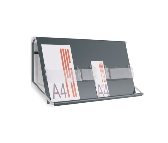 Look wall display by Planning Sisplamo | Brochure / Magazine display stands