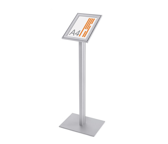 "Q 820 Snapframe lectern ""Quadra"" by Planning Sisplamo 