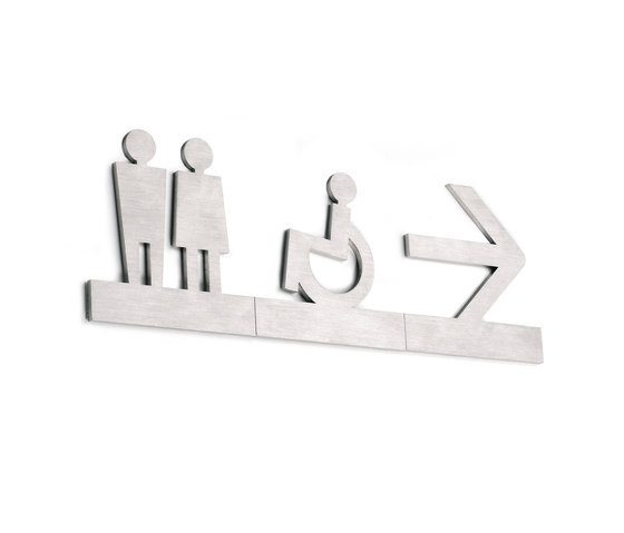 Typo Pictogram by Planning Sisplamo | Toilet signs