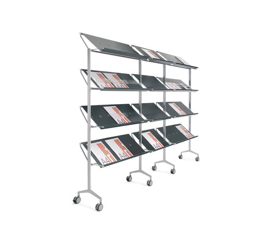Look display by Planning Sisplamo | Brochure / Magazine display stands