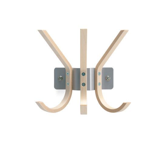 Krokus coat hanger von Materia | Wandgarderoben