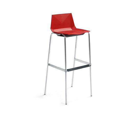 Mayflower bar stool by Materia Mayflower barstool Product : materia mayflower barstool red chrome upholst seat sh780 angle b from architonic.com size 560 x 479 jpeg 13kB